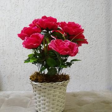 Arranjo de Rosas artificial Luxo