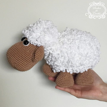 Ovelha Amigurumi em Crochê