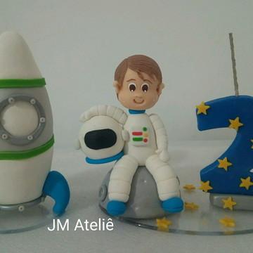 Vela de biscuit Astronauta