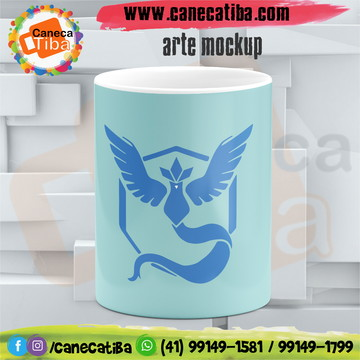 Caneca Pokemon Team Mystic