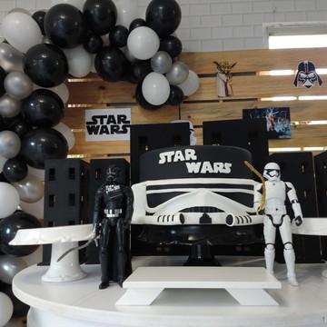 Decoração de festa Star Wars