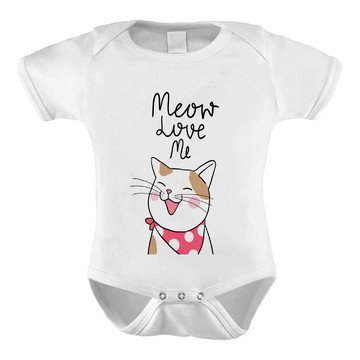 Body Infantil Meow