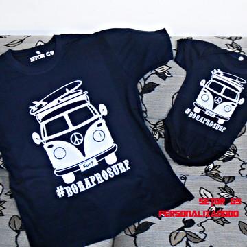 kit camiseta bora pro surf