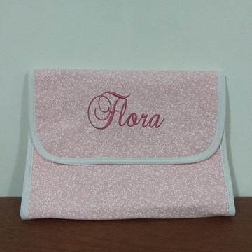 Porta lenço umedecido - Flora