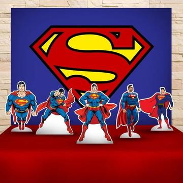 Kit Decoração Festa SUPERMAN