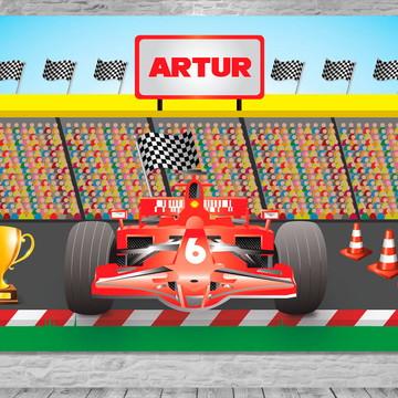 Painel Fórmula 1 Ferrari - Frete Grátis