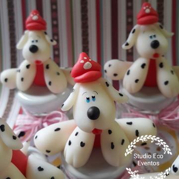 Patrulha canina - lembrancinhas de biscuit
