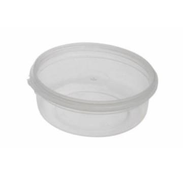 50un pote plástico 160ml com tampa e lacre para doce geléia