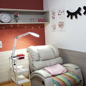 Par de Olhinhos com luz de led decoração quarto bebe