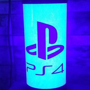Luminária Abajur de LED PS4 Sony Playstation 4 Video Game