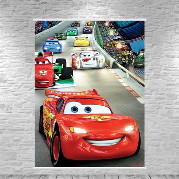 Banner Carros McQueen - 75x100cm