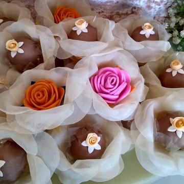 Forminhas de doces para casamento