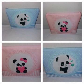 Bolsinha Necessaire Panda