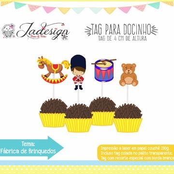 TAG PARA DOCE - FÁBRICA DE BRINQUEDOS