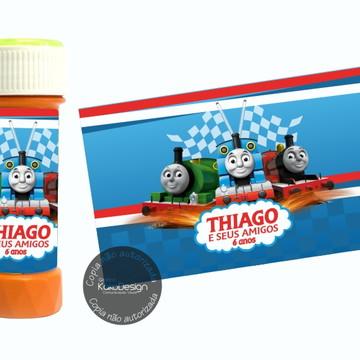 Adesivo bolha de sabão Thomas e seus amigos