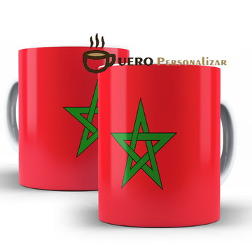 Caneca Bandeira do Marrocos