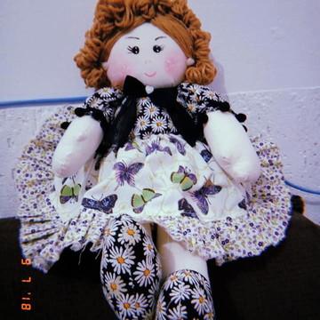 Kit para fazer bonecas de pano