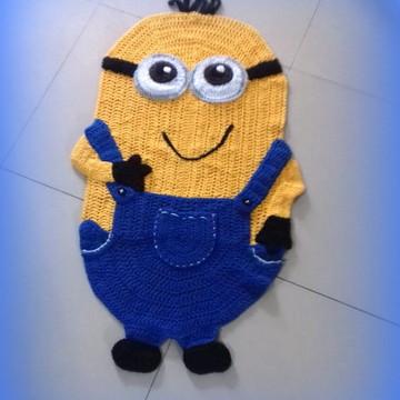 tapete croche Minion