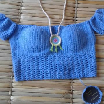 Ciganinha em Crochet