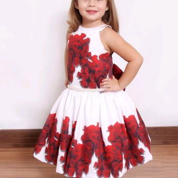 Vestido Festa Floral