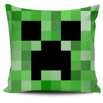 Almofada Minecraft - Creeper E TNT