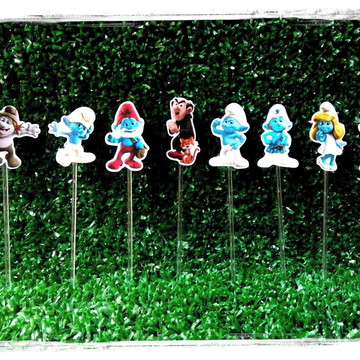 Toppers Smurfs
