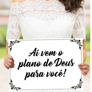 Plaquinhas para casamento