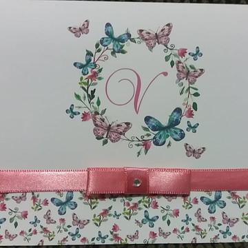 Convite 15 anos - Debutante Floral
