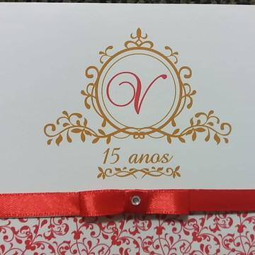Convite 15 anos - Debutante