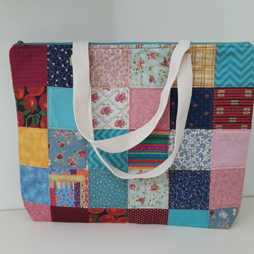 Maxi Bolsa Patchwork - Exclusiva