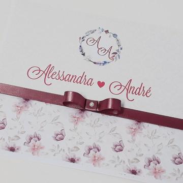 Convite Casamento Grande/ Convite 15 anos Barato
