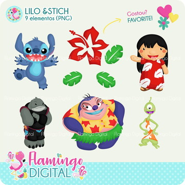 Cliparts Lilo & Stitch