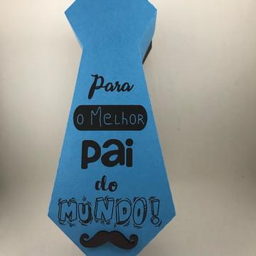 Caixa gravata dia dos Pais