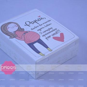 #0405 : Molde de Caixa para 06 doces sem cola Papai