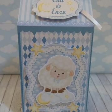 Caixa milk Ovelhinha azul
