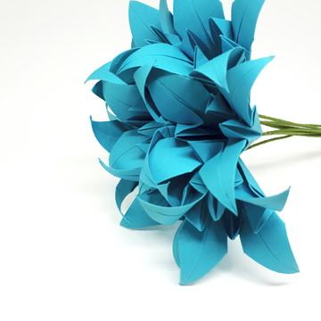 Lirios -Mini Buque origami