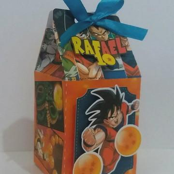 Caixa milk Dragon Ball Z