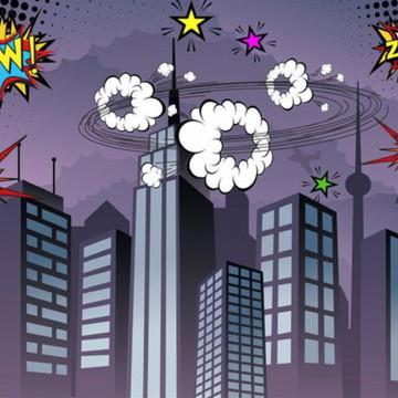 Painel de Festa Super Herois 2