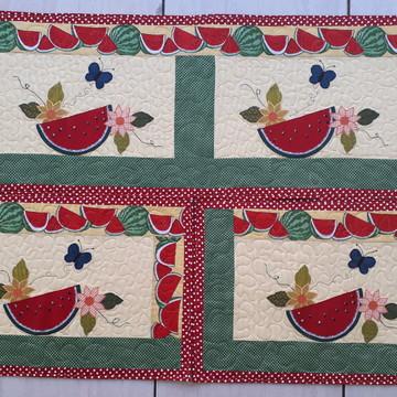 Jogo de tapetes para cozinha melancias!!