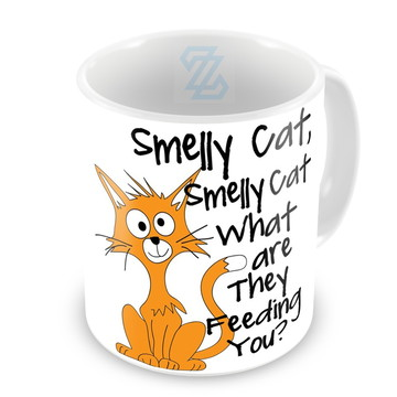 Caneca Friends Phoebe Smelly Cat What Are They Feeding You?