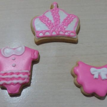 Biscoito decorado para chá de bebê