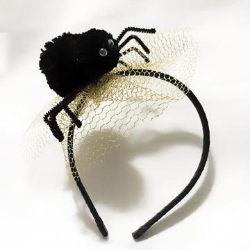 Tiara Halloween Aranha Luxo