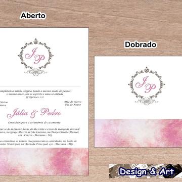 Convites de Casamento + Convites individuais grátis!