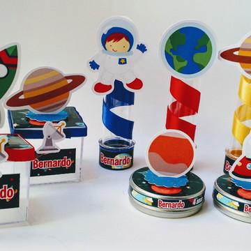 Kit Festa Espaço Astronauta com 30 peças