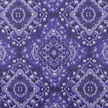 PVC Craft Bandana Violet