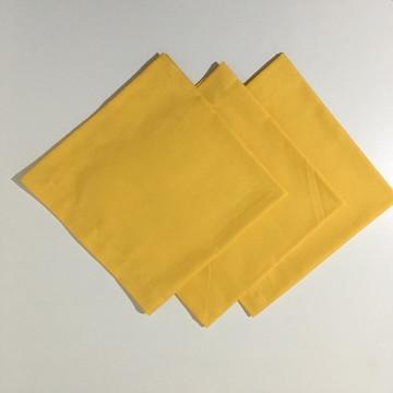 Guardanapo de Algodão Amarelo (180 fios)