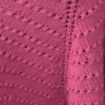 xale tecido em tricô manual, fio de lã merino.