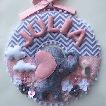 Porta Maternidade Elefantinha