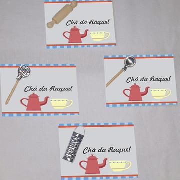 Tag,Chá de cozinha/panela-Mod 1