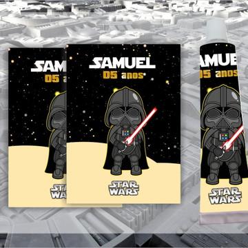 Adesivo para Bisnaga Star Wars